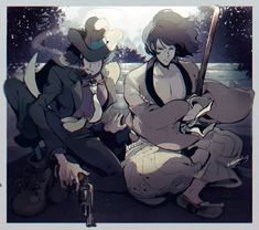 Old Anime, Manga Anime, Anime Art, Blade Runner, Character Art, Character Design, Lupin The Third, Anime Zodiac, Cool Anime Pictures