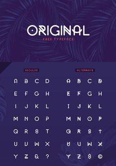 Free Original Font Typeface Font, Calligraphy Fonts, Script Fonts, Caligraphy, Typography Alphabet, Typography Design, Free Typography Fonts, Font Free, Graphic Design Fonts