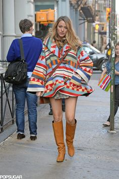 Blake Lively and Ryan Reynolds Walking in NYC | POPSUGAR Celebrity