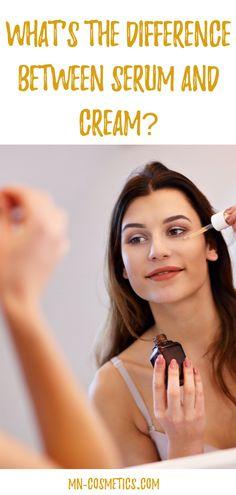 Serum or cream – what's right for me? Anti Aging Skin Care, Natural Skin Care, Serum, Sensitive Skin Care, Skin Mask, Layers Of Skin, Skin Care Remedies, Oily Skin, Skin Care Tips
