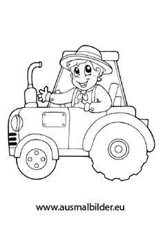 die 10+ besten bilder zu ausmalbilder traktor