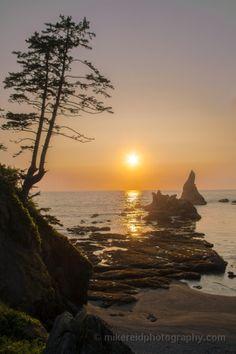 Sunset, Sun Shi Shi Beach Washington