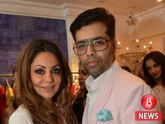 Karan Johar shares a special bond with Shahrukh Khan but ask him about his best friend and he will say its Gauri Khan. See Gauri and Karan unseen pictures Karan Johar, Best Friends Forever, Nursery Design, Happy Moments, Shahrukh Khan, Film Industry, Actors & Actresses, Bff, Bollywood