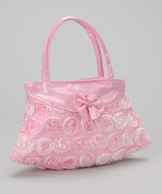 With the LBD with the pink tulle ruffle. Take a look at this Bubblegum Diva Pink Rosette Purse by Bubblegum Diva on today! Pink Love, Cute Pink, Pretty In Pink, Cute Purses, Purses And Bags, Pink Purses, Pink Corvette, Clutch Pattern, I Believe In Pink