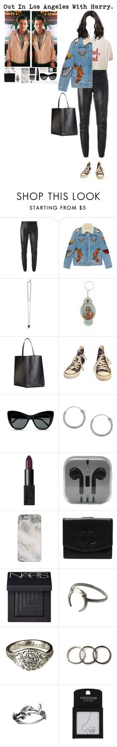 """Out In LA With Harry."" by tytityn ❤ liked on Polyvore featuring Barbara Bui, Gucci, Givenchy, Virgins Saints & Angels, Maiyet, Converse, STELLA McCARTNEY, Topshop, NARS Cosmetics and Chanel"