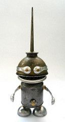 Teaspoon - Found Object Robot Assemblage Sculpture | Flickr