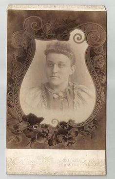Memorial Photo Woman w Glasses Hagerstown Maryland King Photography | eBay