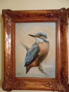 Kingfisher -pastel