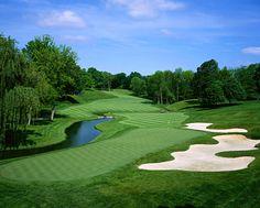 Muirfield Village Golf Club, #2 in Dublin, Ohio - Home of the annual PGA Memorial Tournament