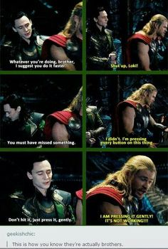 This was our proof Thor and Loki really were raised as brothers
