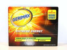 Gerimax Extreme Energi 30 tab Workout, Work Out
