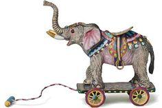 Victorian Carousel animal by Amanda E. Skinner