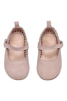 172323c816d019 H M Suede Ballet Flats Ballet Flats