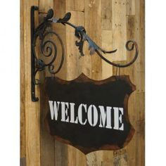 Rodworks - Welcome Sign with Bracket - Rodworks