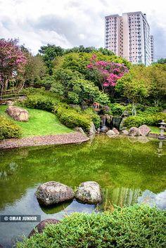 Japanese Gardens, Praça Província de Shiga, Porto Alegre, Rio de Grande do Sul, Brazil