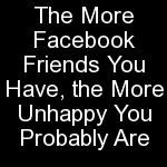 Facebook and other social media offer platform for obsessions with self-image and shallow friendships