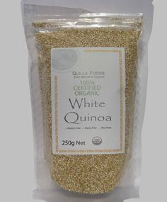 ORGANIC QUINOA WHITE SEED 250g FREE FROM GLUTEN & ALLERGENS FREE SHIPPING $10.15 available on Ebay delivery Australia Wide.