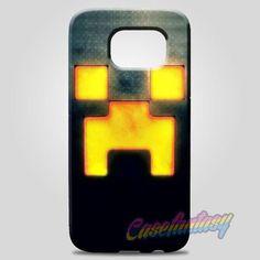 Minecraft Creeper Face Samsung Galaxy Note 8 Case Case   casefantasy