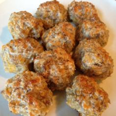 Cream Cheese Sausage Balls Recipe | Just A Pinch Recipes