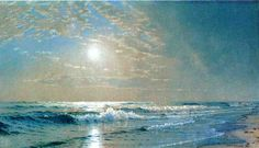 Morning at Atlantic City, New Jersey by Alfred Thompson Bricher