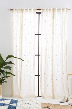 Slide View: 1: Embroidered Arya Curtain