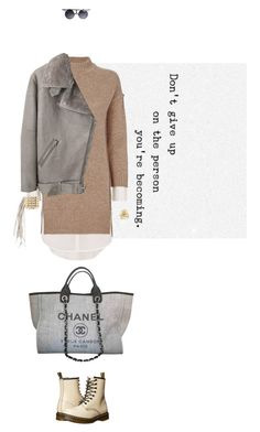 """""""True story"""" by thingsilikethemost ❤ liked on Polyvore featuring Brochu Walker, Acne Studios, Chanel, David Yurman, Lisa Freede and Dr. Martens"""