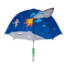 Shop for Space Hero Designed Umbrella for Children at Kidorable. Our Branded Toddler Space Hero Shaped Rain Umbrella offers the Best Quality at A Reasonable Price. Childrens Umbrellas, Kids Umbrellas, Best Umbrella, Rain Umbrella, Space Hero, Joker, Blue Space, Rain Gear, Meteor Shower