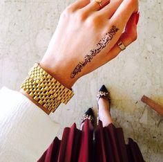 Arabic tattoo...
