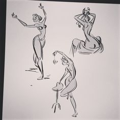 A couple of gestures from my warmup after work! Human Figure Drawing, Figure Sketching, Figure Drawing Reference, Art Reference Poses, Hand Reference, Cartoon Sketches, Cartoon Styles, Drawing Sketches, Art Drawings