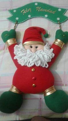 NOEL COLGANTE Christmas Holidays, Christmas Crafts, Christmas Decorations, Xmas, Christmas Ornaments, Holiday Decor, Felt Banner, Christmas Fabric, Christmas Pictures