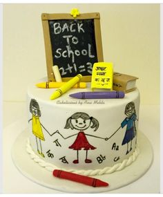 Back to School! - Cake by Cakelicious by Anu Mehta