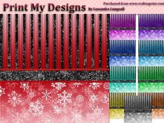 Christmas backgrounds by Cassandra Campsall Christmas backgrounds 2400 x 2400