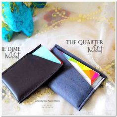 Some of you may not know that I got my start in business by sewing bags and wallets. Diy Wallet, Denim Bag, Wallets For Women, Purses And Bags, Recycling, Sewing, Business, Jeans, Pattern
