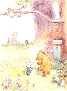 Mr.Sanders door by the artist E.H. Shepard