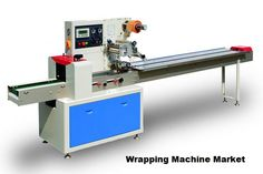 Wrapping in the packaging industry covers a wide range of machine types and styles, which uses plastic film, paper or aluminum foil. These materials are wrapped around the products and sealed. Wrapping machines can wrap a product partially or can enclose it completely, by use of number of folding and sealing operations.