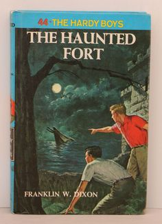 The Hardy Boys The Haunted Fort #44 (Hardcover, copyright 1965)