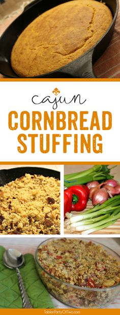 This Cajun Cornbread Stuffing is indeed a crowd-pleaser! If you love Louisiana food like I do (i.e., with a little KICK to it), then you'll go nuts over this stuffing!