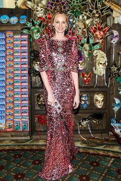 Lauren Santo Domingo in Dolce&Gabbana at the Save Venice Ball 2016 on April 15, 2016 in New York #lsd #PrettyInPink