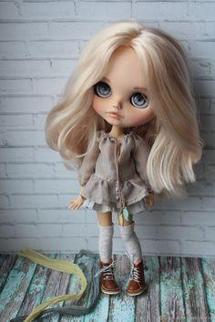Pretty Dolls, Beautiful Dolls, Ooak Dolls, Blythe Dolls, Unicorn Doll, Cat Character, Dream Doll, Drawing Challenge, Custom Dolls
