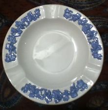 Vintage Wedgwood Embossed Queen's Ware of Etruria & Barlaston Ashtray