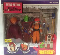 (TAS013464) - 2011 Mattel The Real Ghostbusters Retro-Action Adult Collectible