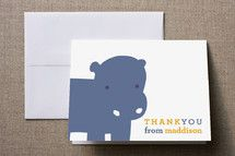 Childrens Birthday Party Thank You Cards #pinhonest
