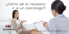 ¿Cómo sé si necesito ir a un psicólogo?