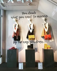 WEBSTA @ denissedelavera - Friday mood ✔️✔️✔️You decide what you want to express, by the way you dress... @stradivarius #granviamadrid #retail #windowdisplay #fashionplacement