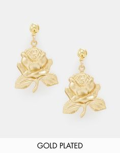 Image 1 - Regal Rose - Love Is Rose - Pendants d'oreilles roses