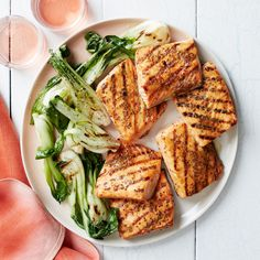 Honey-Mustard-Glazed Salmon Steaks   23 Quick And Delicious Fish Dinners