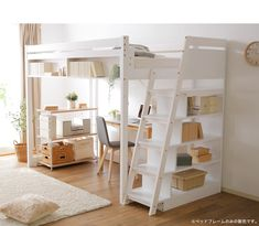 Single Loft Bed with Stairs . Single Loft Bed with Stairs . Us Furniture and Home Furnishings In 2020 Loft Beds For Small Rooms, Loft Beds For Teens, Small Room Design Bedroom, Bed For Girls Room, Girl Bedroom Designs, Room Ideas Bedroom, Home Room Design, Adult Loft Bed, Loft Bed Plans