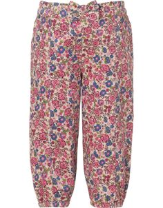 Baby Peggy Printed Cord Trouser | Multi | Monsoon