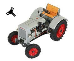 Tractor de cuerda DEUTZ F2M 315  #momamini #miniaturas #juguetes #retro #tractorcuerda #tractorcuerdadeutz #deutz