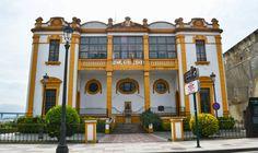 Con I de Indiano. Casino de Navia. Asturias